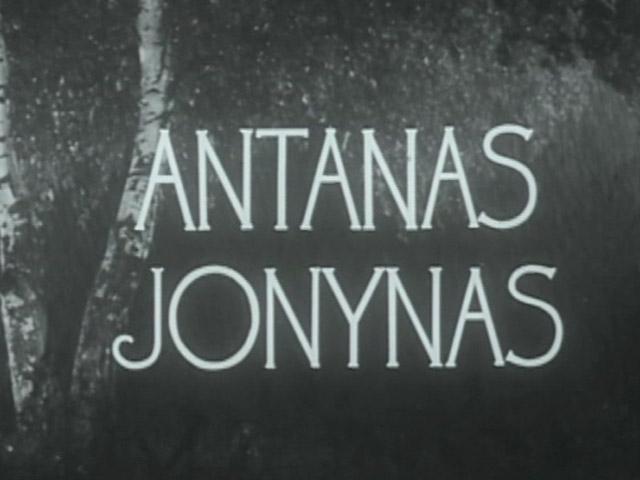 A. Jonynas