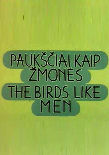 Paukščiai kaip žmonės