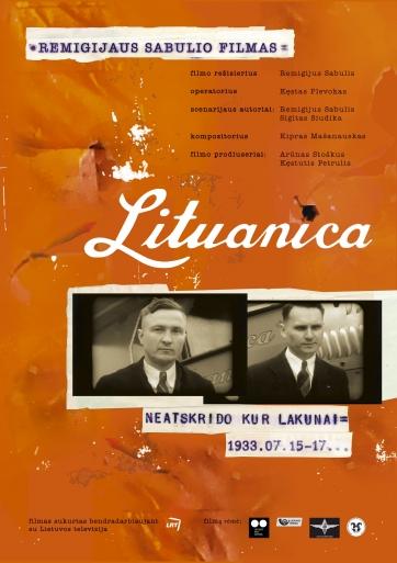Lituanica paslaptis