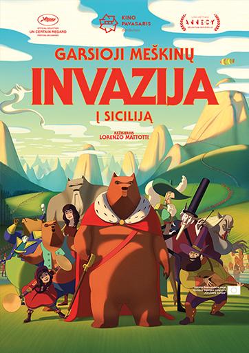 Garsioji meškinų invazija į Siciliją / The Bears' Famous Invasion Of Sicily