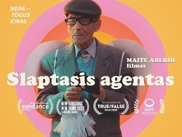 Slaptasis agentas